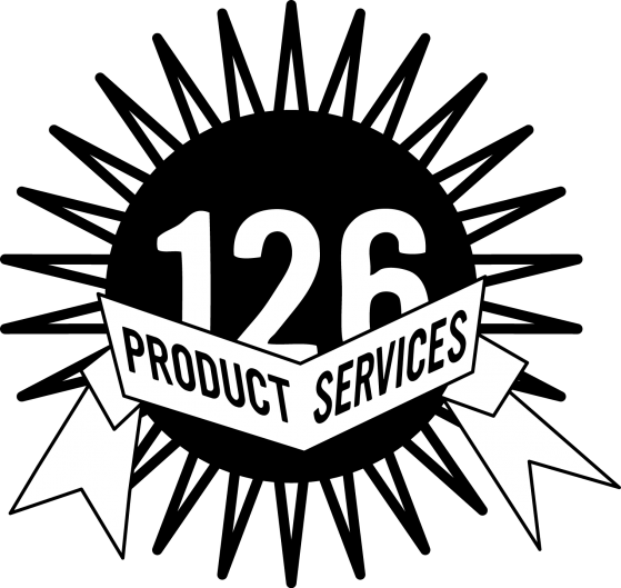 logo 126 products and services black sun image