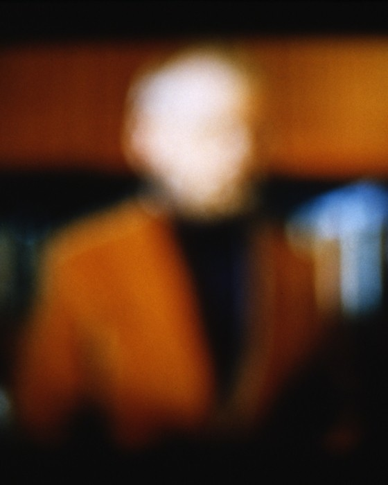 blurred image of a man