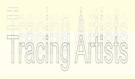 Tracing Artists Logo