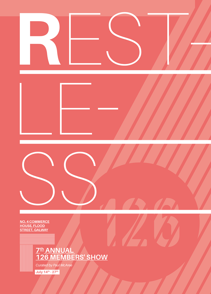 Paul Fahy to launch 126 Gallery publication of RESTLESS