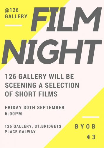 Film Night Friday September 30