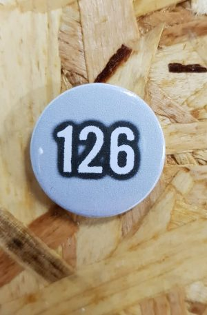 126 Badge *grey
